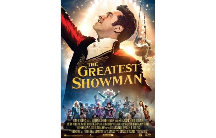 Moive poster of The Greatest Showman