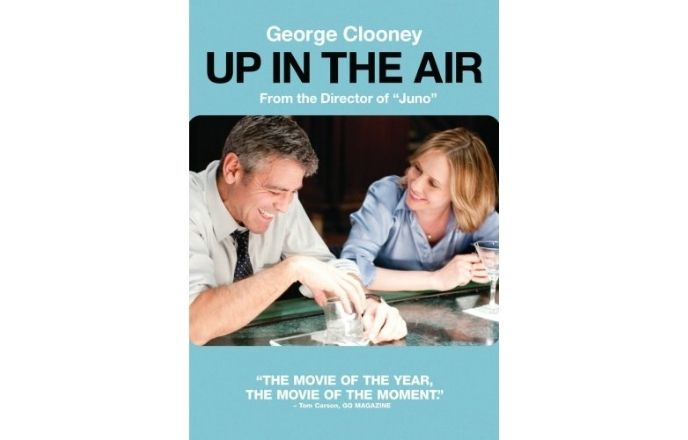 Moive poster of Up In The Air