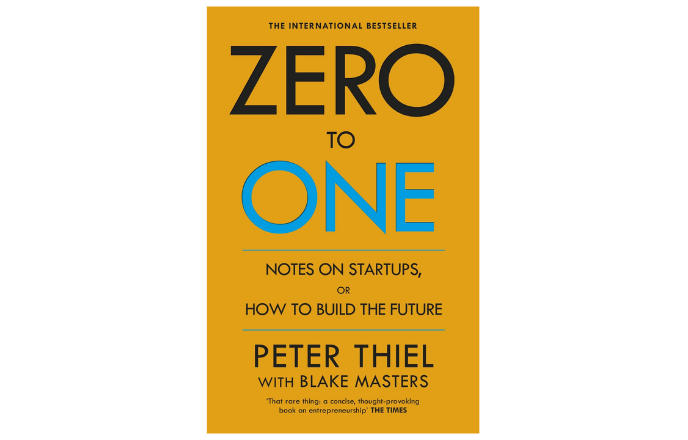 best business administration book zero to one